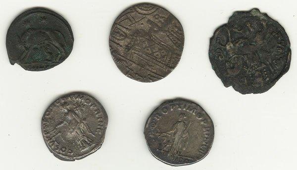 Roman Empire Coin Lot (6)