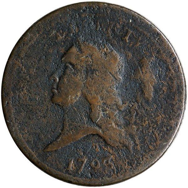 1793 Flowing Hair Half Cent Breen-1