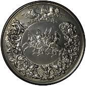 Battle of Waterloo 175th Anniversary Silver Commemorati