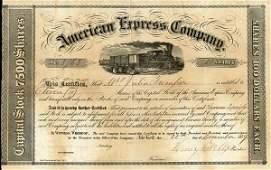 American Express 1859 Type III 11 shs VF