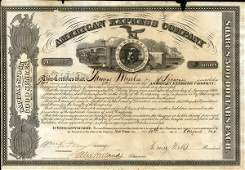 American Express 1864 Type IV 2 shs VF