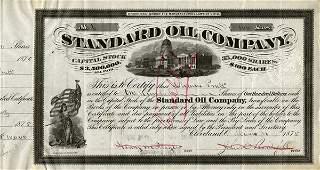 Standard Oil 1875 100 shs VF+