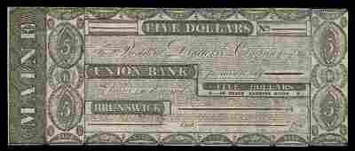 ME Brunswick Union Bank Pair