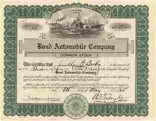 Bond Automobile 1924 5shs VF