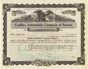 Cadillac Certificate Trio (3)