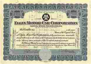 Elgin Motors Certificate Trio (3)