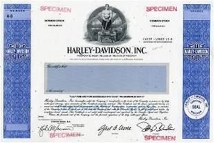 Harley-Davidson Specimen shs EF