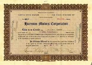 Harroun Motors Certificate Group (4)