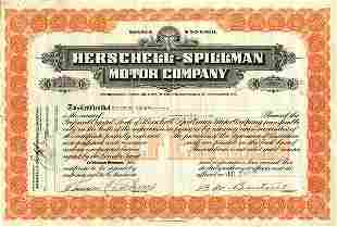 Herschell-Spillman Certificate Trio (3)