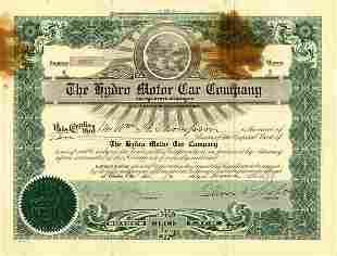 Hydro Motor Car 1918 10 shs F