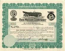 Pan Motor 1918 10 shs VF+