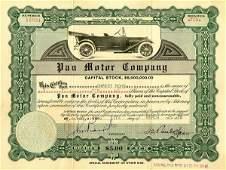 Pan Motor 1918 10 shs VF