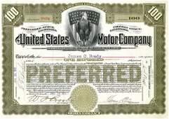 U.S. Motor 1911 100 shs VF+