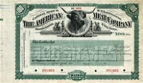 American Meat 18_ Specimen shs VF+