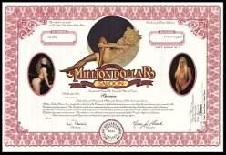 Million Dollar Saloon Certificate Trio (3)