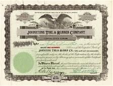 Johnstone Tire & Rubber 1919-23 shs (35)