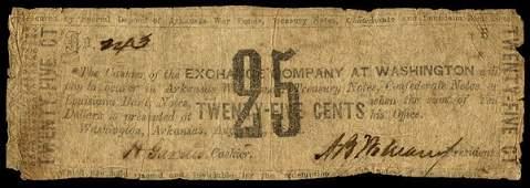 AR Washington Washington Exchange Co 25c