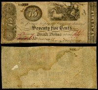 AL Eufaula Young Woods & Gardner Office 75¢ 1838