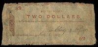 AR. Centre Point. J.N. Clardy & McGuire. $2. 1862