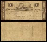 DC. Alexandria. Merchants Bank of Alexandria Trio