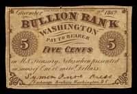 DC Washington Bullion Bank Scrip Sets and Notes (10)