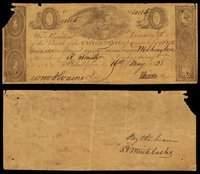 DC Washington Bank of US Second $5 May 16, 1828