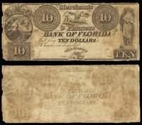 FL Tallahassee Merchants & Planters Bank $10 1830s-40s