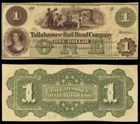FL. Tallahassee Rail Road Co Group, All With Color (5)