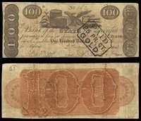 GA. Augusta. Bank of the State of Georgia Pair