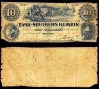 IL Bolton Bank of Southern Illinois $5 June 24, 1856