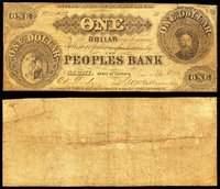 IL. Carmi. Peoples Bank Pair.
