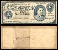 IL Chicago Bay St L. S. Co Nordgren & Bergstrom $5 1888