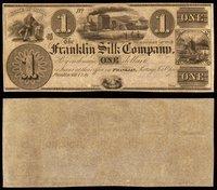 OH Franklin Franklin Silk Co Unissued Remainders (7)