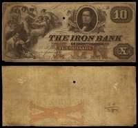 OH. Ironton. Iron Bank Pair.