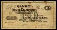 OH. Jackson. Globe Iron Company Pair.
