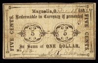 OH. Magnolia. A R Elson Scrip. Dec. 12, 1862.