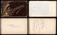 Autograph Book - Cleveland Admin, SCOTUS