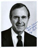 Bush, George HW - Signed Photo