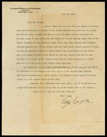 Cayce, Edgar - Typed Letter Signed w/typed reading!!