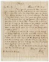 Clay, Henry - Autograph Letter Signed re: Polk election