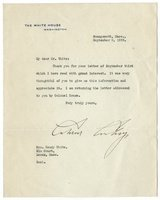 Coolidge, Calvin - Typed Letter Signed as Pres
