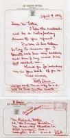 Davis, Bette - Auto Letter Signed - great content!