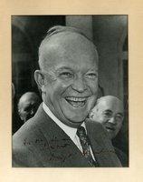 Eisenhower, DD - Signed photo, framed