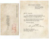 Eisenhower, DD - Typed Ltr Signed as nominee, 1952