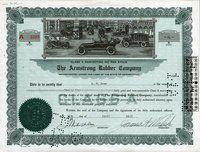 Armstrong Rubber (CT) 1945. 24 shs