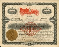 F.A.L. Motor (IL) 1910. Chicago. #218. 25 shs.