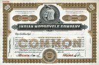 Indian Motocycle (MA) 19_. Specimen. 100 shs.