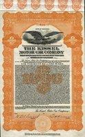 Kissel Motor Car (WI) 1922. #M403. $1000.