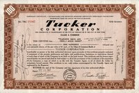 Tucker (DE) 1947. Shares Group (4)