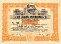 Baker Steam Motor Car & Mnfctrng (AZ) 1921 5000 shs